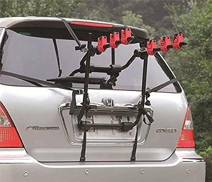 Marko Automotive - Soporte de bicicletas para maletero de coche (3 ...