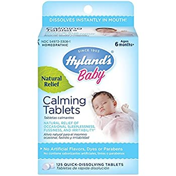 Amazon Com Hyland S Baby Calming Tablets Natural Symptom