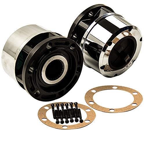 26 Tooth Manual Locking Hub Set of 2 For 95-02 Kia Sportage 4x4/4WD w/Bolts