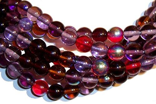 (UnCommon Artistry Vineyard Mix Czech 8mm Druk Beads)
