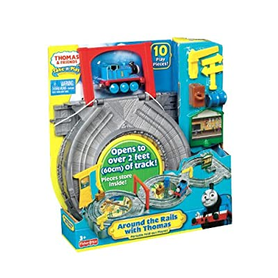 Fisher-Price Thomas & Friends DC Around the Rails With Thomas: Toys & Games