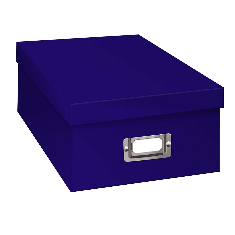 TSVP Photo Albums Photo Storage Box - Blue