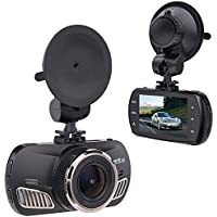 Saimly 2.7 Car Dash Cam, Ambarella A12 Super HD 1440P 170 Degree Wide car camera Recorder G-sensor Support up to 512GB TF Card