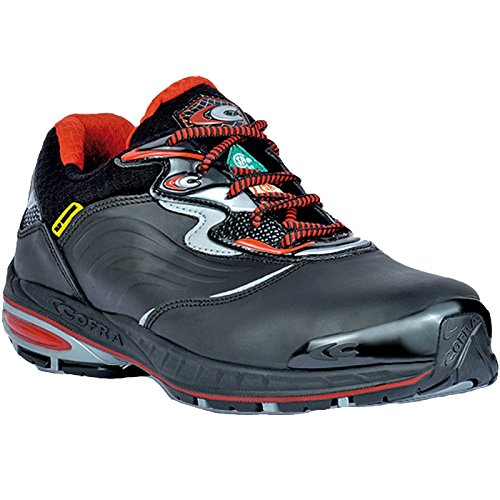 19440-CU0.W08 SAFETY Shoes ''Transfer EH PR'' Size In 8, Black/Red