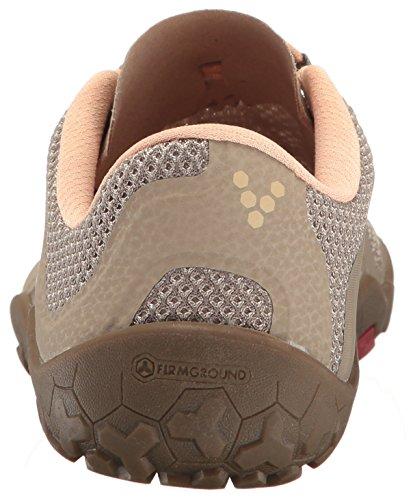 Vivobarefoot Womens Pirmus Fg Ditta Ground Off Road Trail Running-shoes Cobblestone
