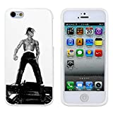 Travis Scott Action Figure Case Cover Your iPhone 5/5S Case and iPhone 5 Case ( White Hard Plastic )