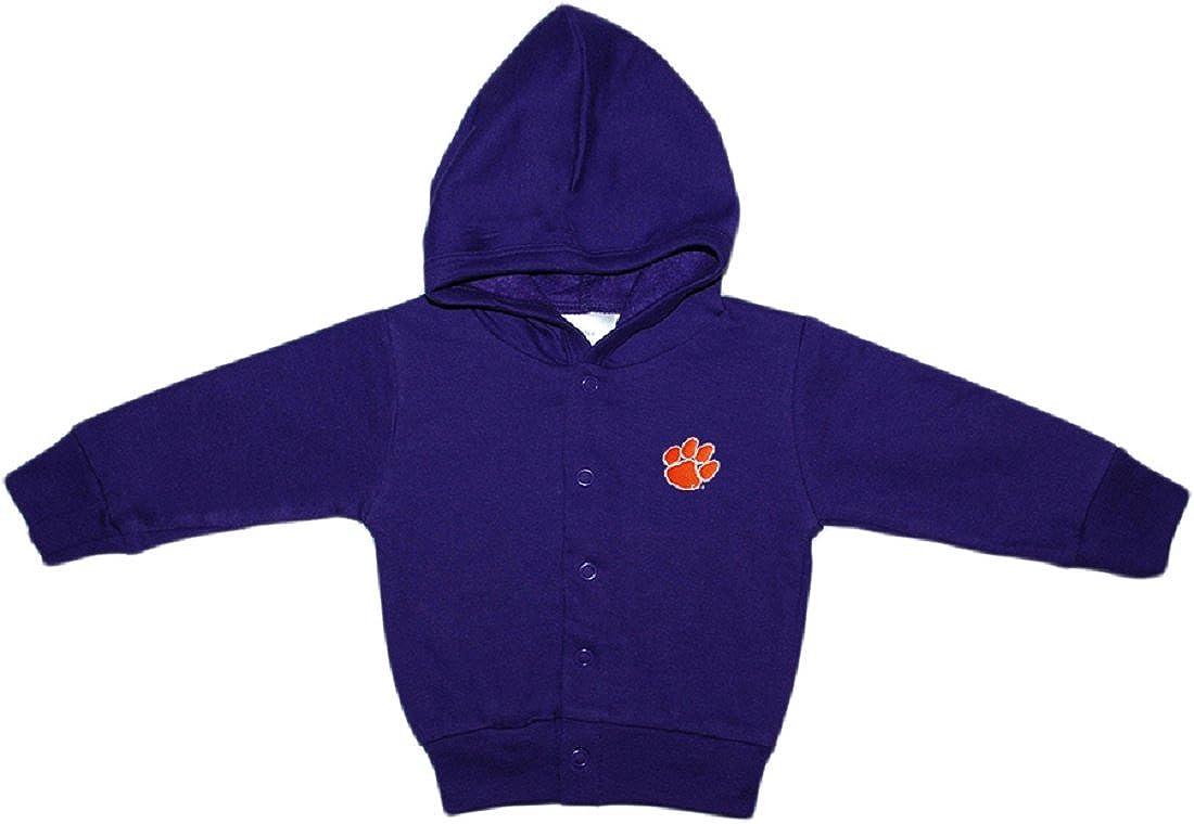 Clemson University Tigers Newborn Baby Snap Hooded Jacket