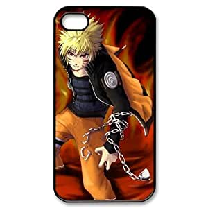 4S ,Hard For SamSung Galaxy S5 Case Cover Naruto Fashion Pattern Hard Back Snap on For SamSung Galaxy S5 Case Cover (Black/white)