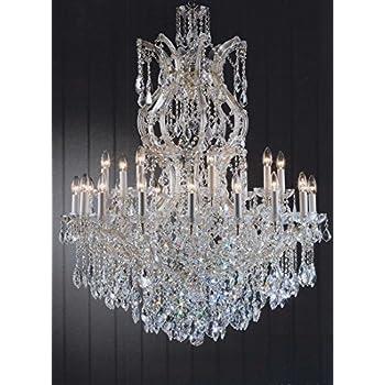 Maria theresa chandelier crystal lighting chandeliers h 50 w 37 maria theresa chandelier crystal lighting chandeliers h 50 w 37 great for large foyer aloadofball Choice Image