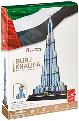 Burj Khalifa 3D Puzzle 136-Piece ()