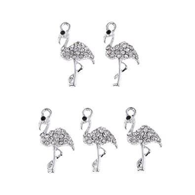 10x Rhinestone Ballerina Charms Pendant Charms DIY Necklace Earring Findings