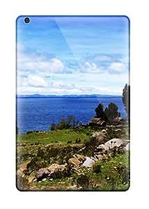 Cheap Premium Protective Hard Case For Ipad Mini- Nice Design - Titicaca Lake 9166635I65618539