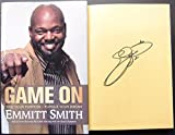 Emmitt Smith signed Book Game On Cowboys 1st