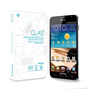 SPIGEN SGP GLAS t. Premium Tempered Glass Series Screen Protector for Samsung Galaxy Note 4G LTE [AT&T Model ONLY]