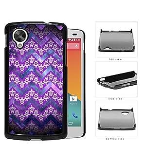 Mini Turtles In Chevron Pattern Purple Hard Plastic Snap On Cell Phone Case LG Nexus 5