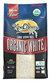 KenChaux Long Grain White Rice, Organic, 32 Ounce