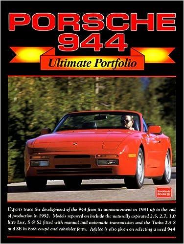 Porsche 944 (Ultimate Portfolio): Amazon.es: R. M. Clarke: Libros en idiomas extranjeros