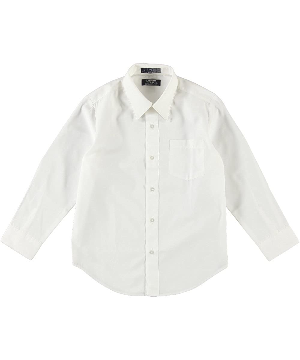 French Toast School Uniform Boys Long Sleeve Classic Dress Shirt