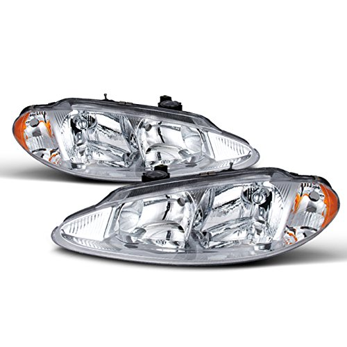 - For Dodge Intrepid OE Replacement Chrome Bezel Headlights Driver/Passenger Head Lamps Pair New
