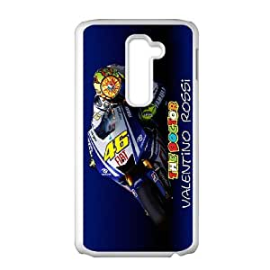 Valentino Rossi theme pattern design For LG G2 Phone Case