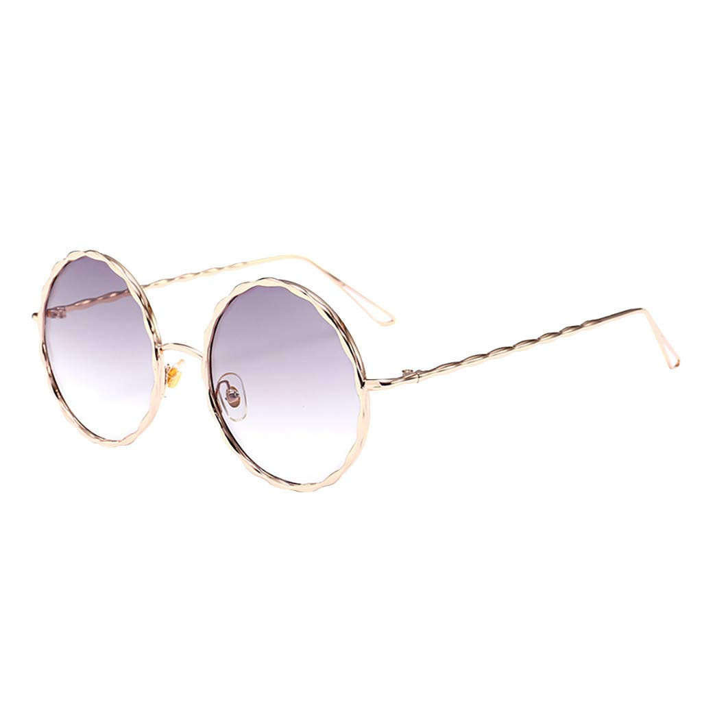 Women Men Vintage Eye Sunglasses Retro Eyewear Fashion Radiation Protection