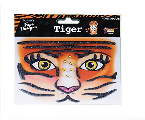 Instant Makeup - Face Designs (Tiger) -