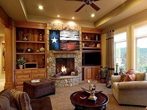 Texas Flag | Rustic decor | Τexas decor | Distressed Wood Flag | Texas wall decor | Optional