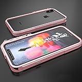 Zxcvlina Phone Case Cover Protector Marco De Parachoques De Protección Contra Golpes De Metal Todo Incluido