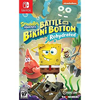 Spongebob Squarepants: Battle for Bikini Bottom - Rehydrated - Nintendo Switch Standard Edition