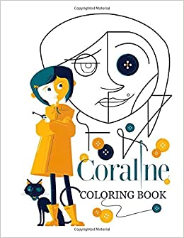 Coraline Coloring Book Coraline Dark Fantasy Horror Illustration Paperback Relaxation Coloring Books For Adults Kid Williams Brent 9798647024817 Amazon Com Books