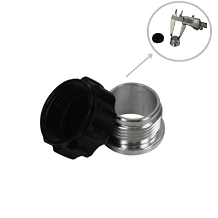 Amazon.com: ALLOYWORKS Aluminium 43mm Weld On Radiator Screw Cap + Insert Billet 1