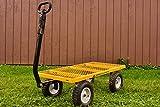Gorilla Carts Heavy-Duty Steel Utility Cart with