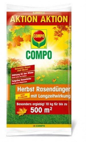 COMPO Herbst Rasendünger mit Langzeitwirkung, 10 kg