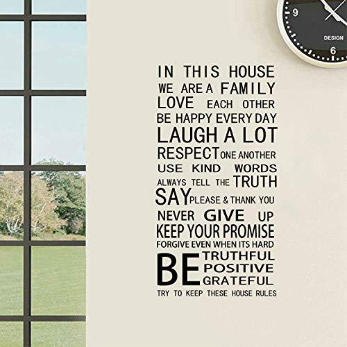 libby-nice Reglas De La Casa Modren Palabra Romántica Cita ...