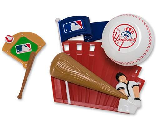 - CAKEMAKE MLB Home Run, Cake Topper, New York Yankees