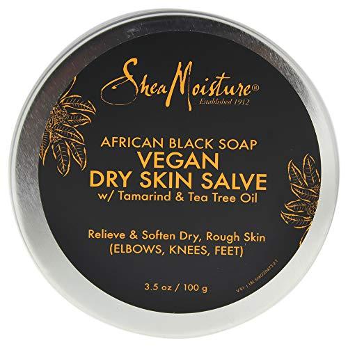 Shea Moisture African Black Soap Vegan Salve Cream By Shea Moisture for Unisex - 3.5 Oz Cream, 3.5 Ounce