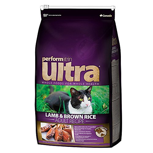 Performatrin Ultra Lamb & Brown Rice Recipe Adult Dry Cat Food 14.3 lb. by Performatrin