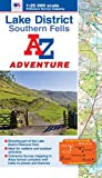 img - for Lake District (Southern Fells) Adventure Atlas (A-Z Adventure Atlas) book / textbook / text book