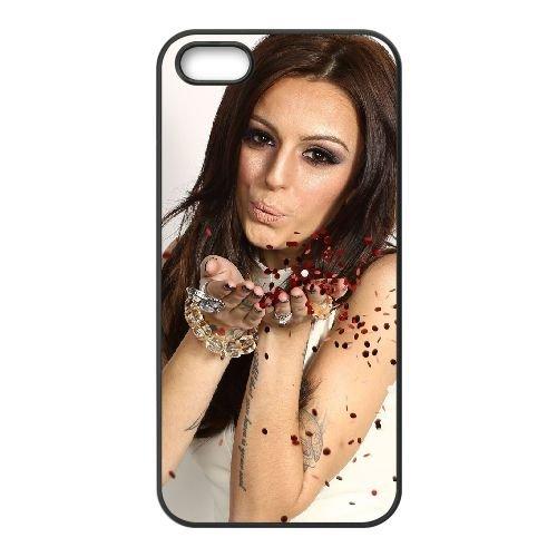 Cher Lloyd 001 coque iPhone 5 5S cellulaire cas coque de téléphone cas téléphone cellulaire noir couvercle EOKXLLNCD22777