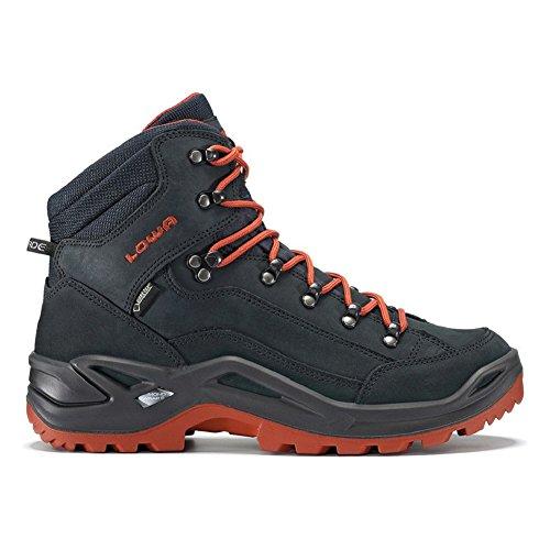 Navy Lowa Hiking Rust Boot Renegade Mid Men's GTX q7Yxv