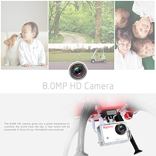 GoolRC X8HG 8.0MP HD Camera RC Quadcopter...