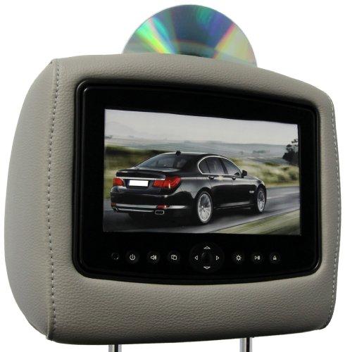 CarShow by Rosen CS-HDPIL09-G12-S1 Single DVD Headrest Sy...