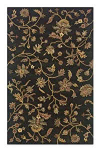 Rizzy Rugs DT-0775 3-Foot-by-5-Foot Destiny Area Rug, Transitional Charcoal