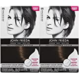 John Frieda Precision Foam Hair Colour, Dark Natural Brown 4N, 2 pk