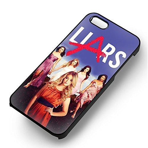 All Pretty Little Liar Members pour Coque Iphone 6 et Coque Iphone 6s Case (Noir Boîtier en plastique dur) Q1U5EL