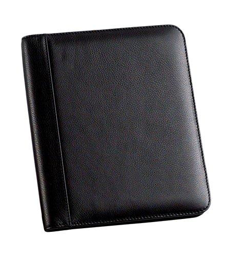 bellino-leather-memo-pad-holder-junior-black