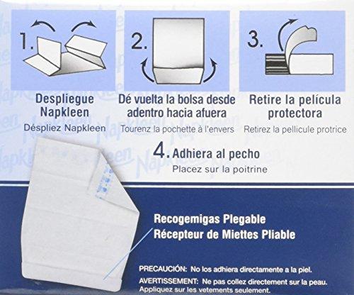 Napkleens Disposable Adult Bib, Case Pack by Napkleen (Image #1)