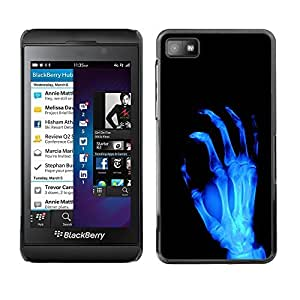 GagaDesign Phone Accessories: Hard Case Cover for Blackberry Z10 - X-Ray Skeleton Arm
