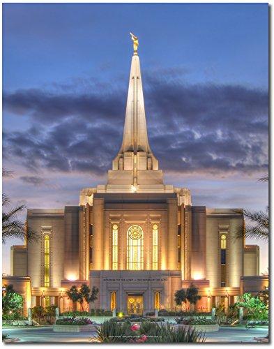 Latter-day Strengths Gilbert Arizona LDS Temple at Twilight - 11