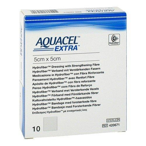 ConvaTec Aquacel Extra Hydrofiber Wound Dressing - 2 x 2 Inch by Convatec